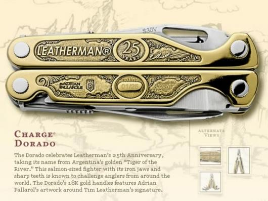 The US$40,000 Leatherman Charge Dorado