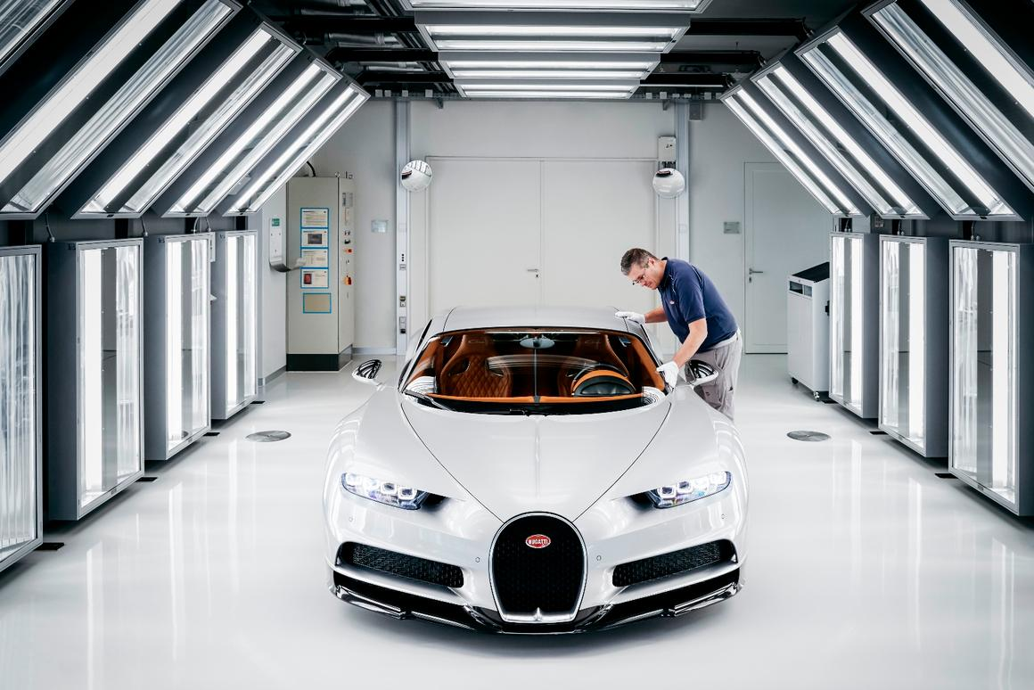 Perfection in the making: Bugatti lifts curtain on Chiron