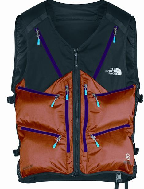 The North Face Powder Guide ABS packs an avalanche airbag into a vest