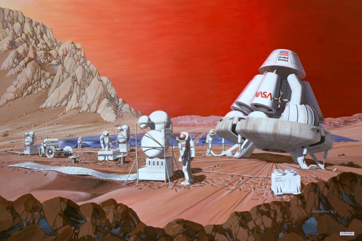 Cosmic radiation could adversely affect the digestive tracts of astronauts on a future manned mission to Mars