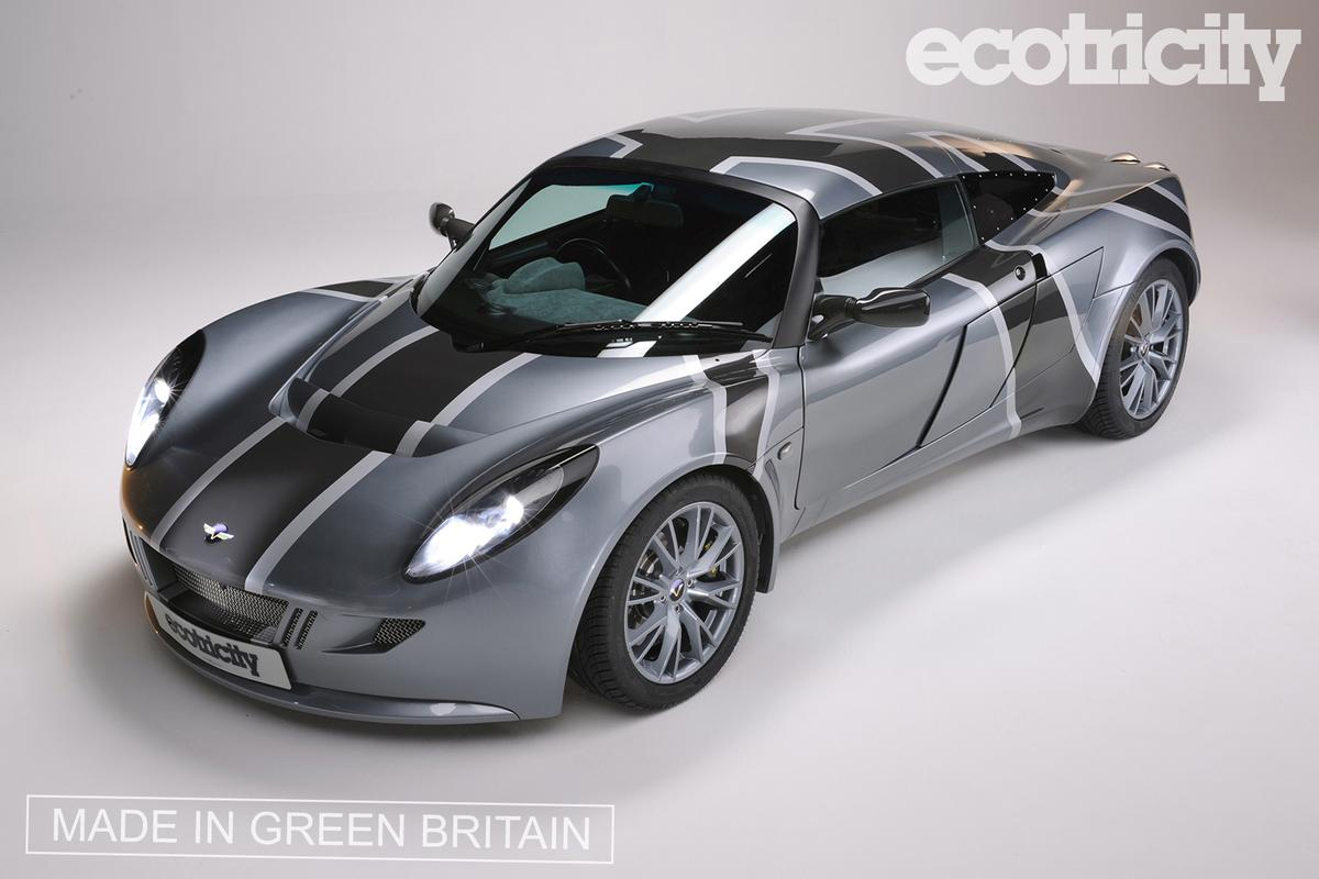 Ecotricity's one-of-a-kind all-electric 170mph Nemesis supercar