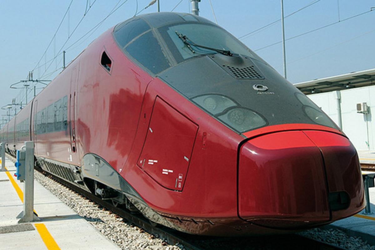 NTV Italo high speed train (Photo: NTV)