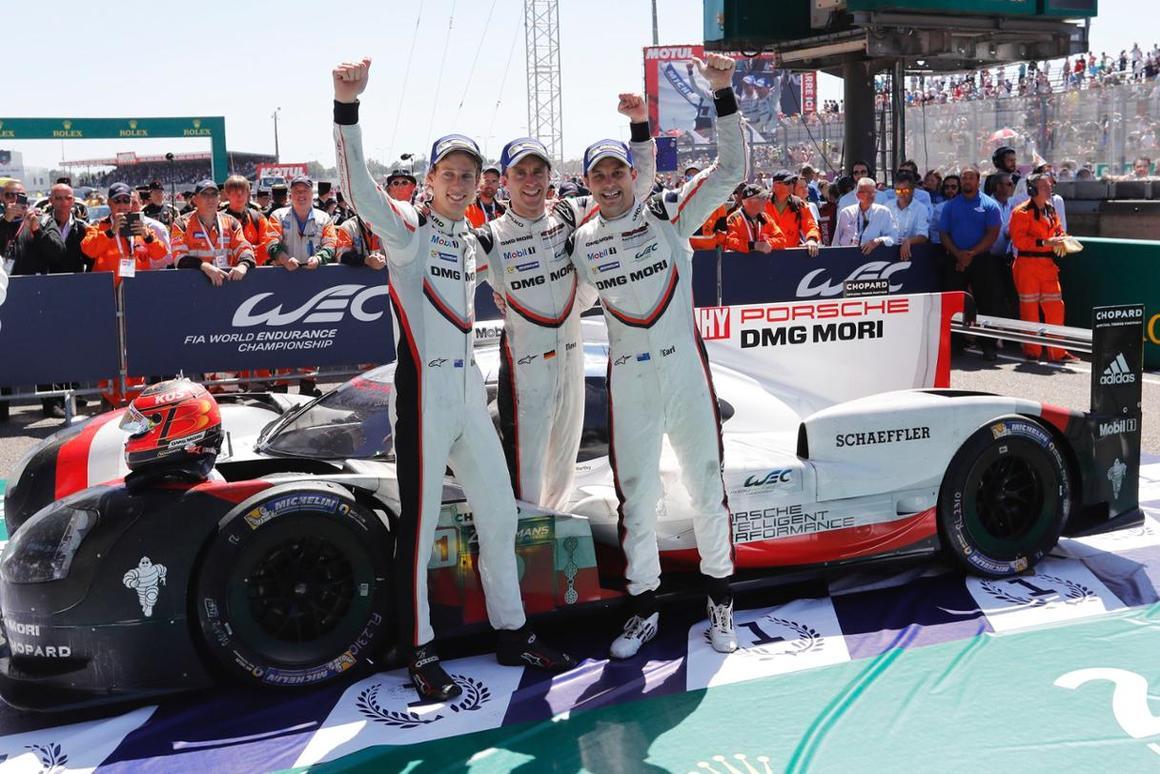 Victory for Porsche at Le Mans