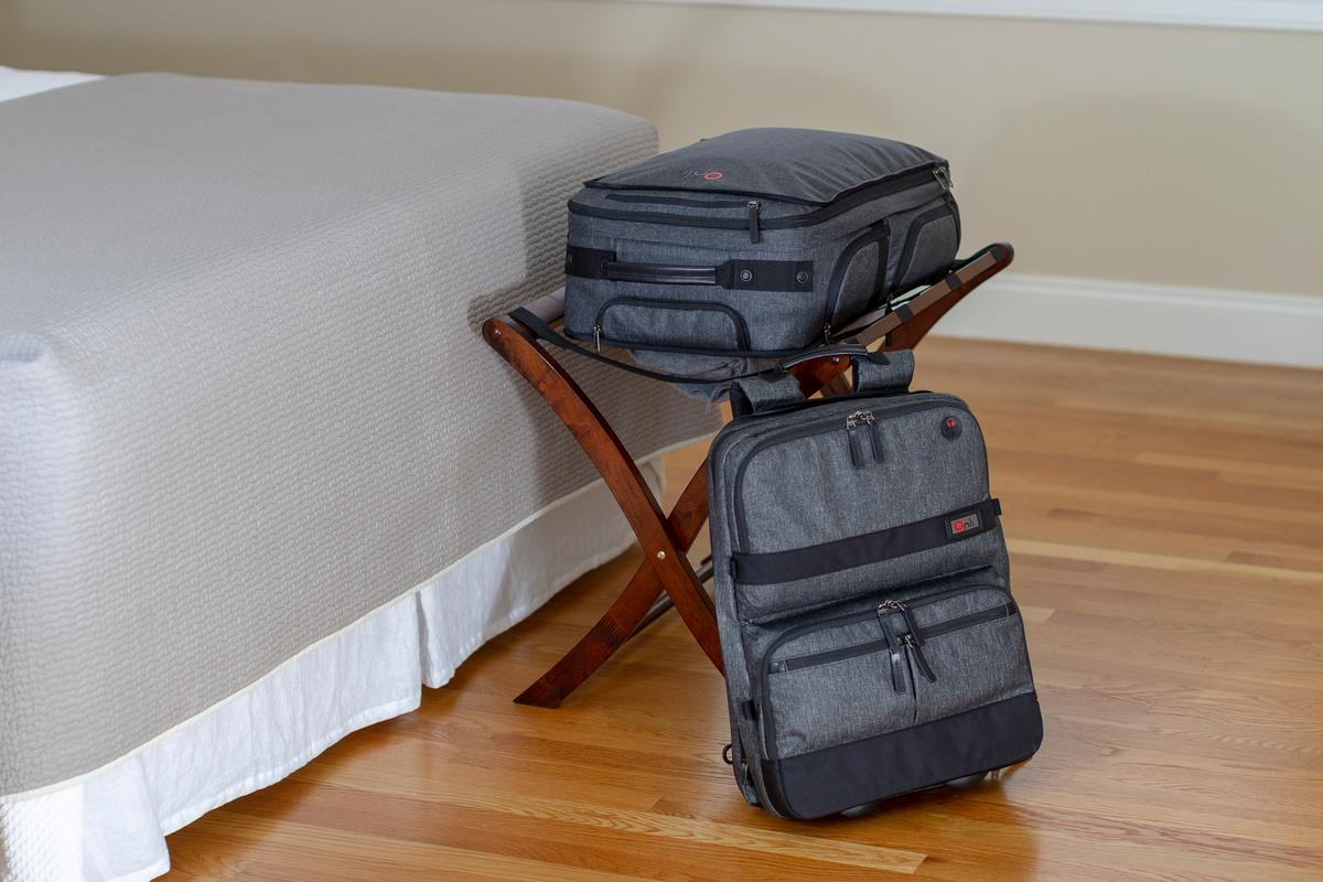 The Onli is a versatile modular travel system that has you covered when it comes to traveling with just one bag