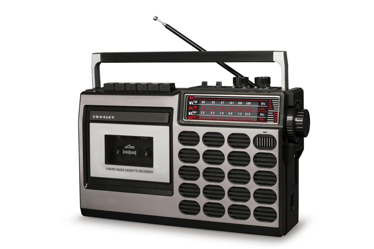 Crosley is looking to get in on the audio cassette revival early with the CT100 cassette player