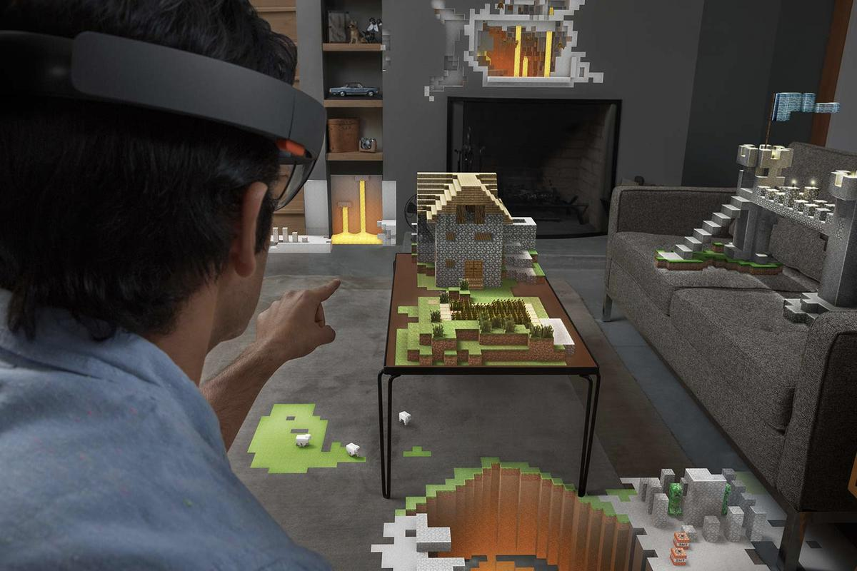 Minecraft in your living room, anyone?