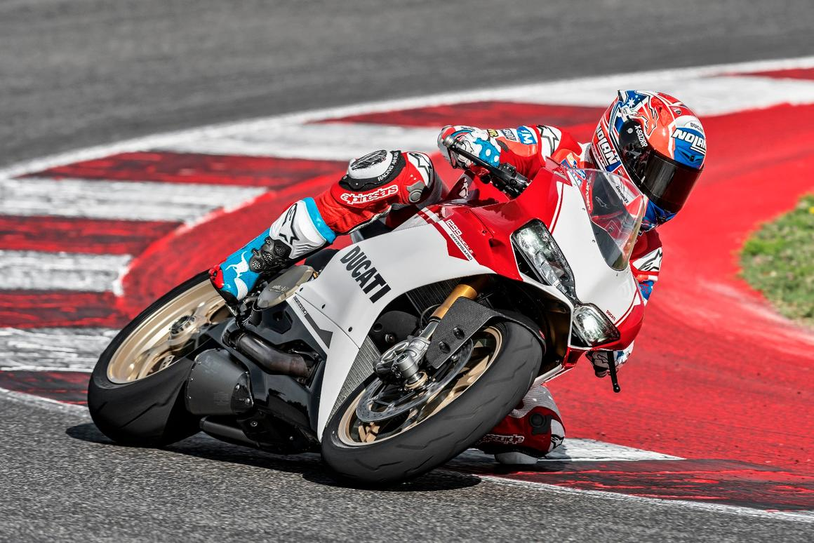 Ducati has wished itself a happy birthday with the Panigale 1299 SAnniversario