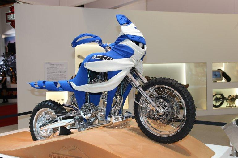 The Yamaha 1200 Super Tenere twin