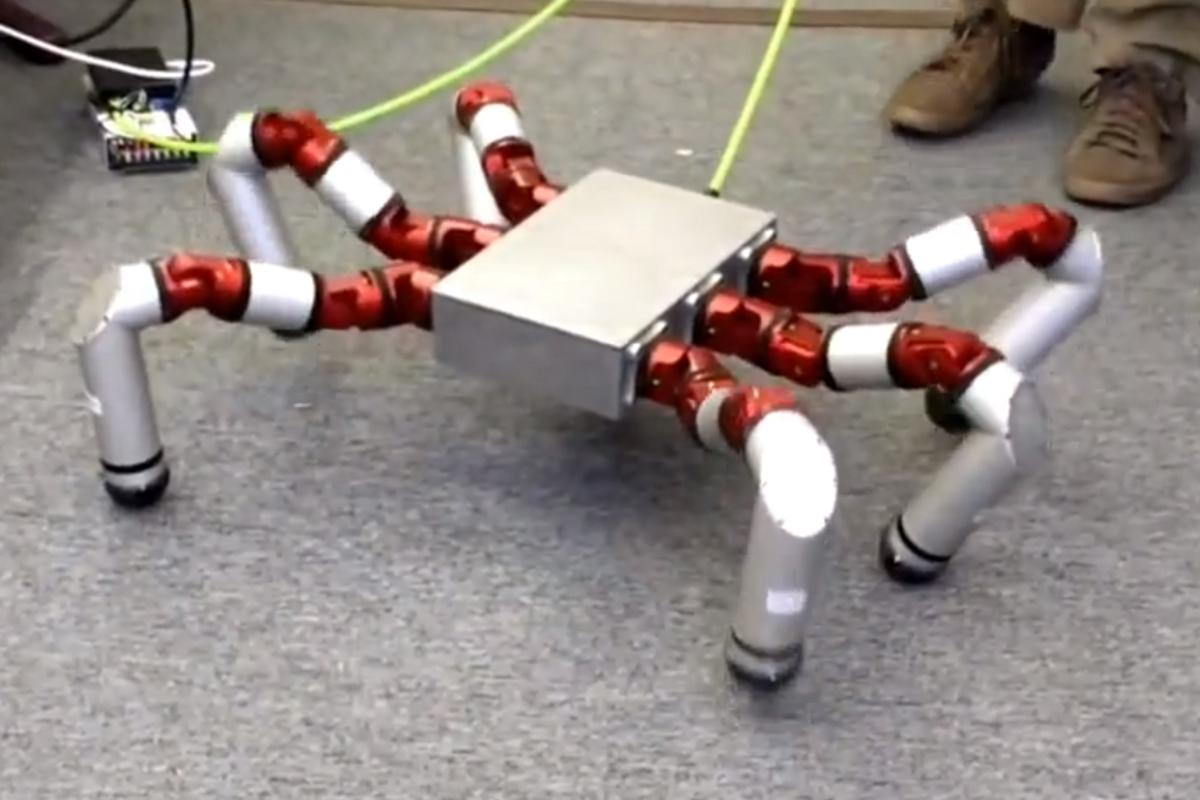 The Snake Monster robot is claimed to be the precursor to a range of robots intended to be built using a modular system (Photo: CMU Robotics Institute)