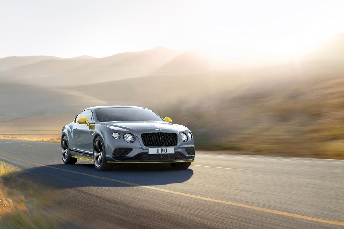 The Bentley Continental GT Speed Black Edition
