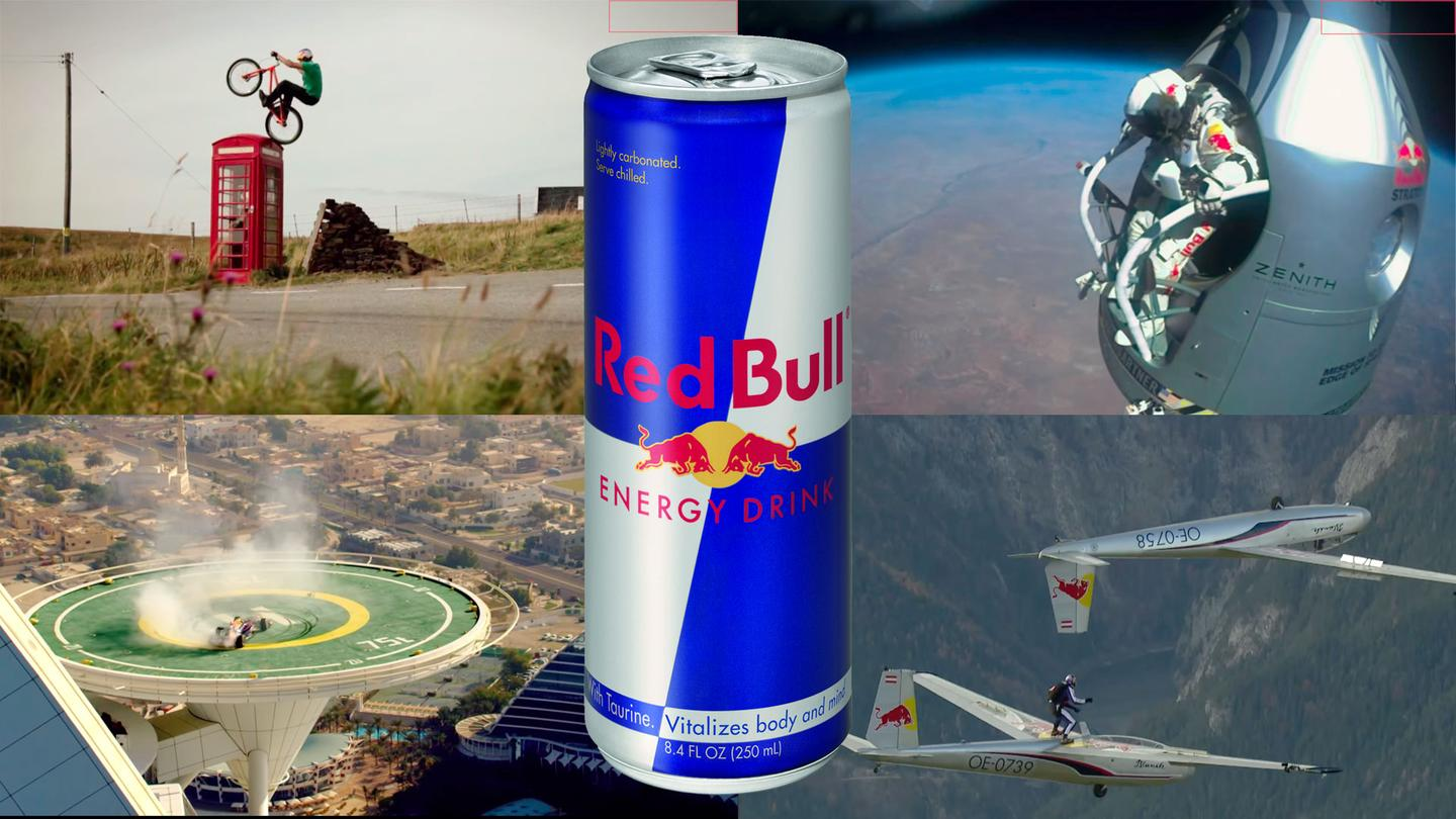 Part energy drink, part global mega-brand: Red Bull's outrageous stunts have made it one of the world's most recognizable logos