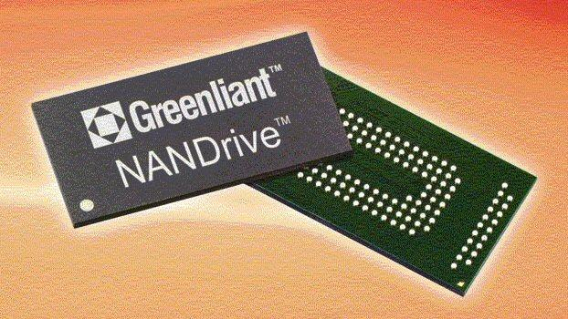 Greenliant Systems has developed a new embedded NANDrive storage solution that incorporates a SATA controller