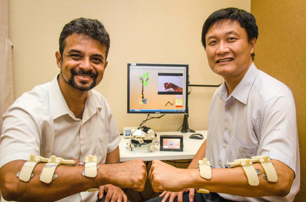 SynPhNe is being developed by Dr. John Heng (right) and his PhD student Banerji Subhasis