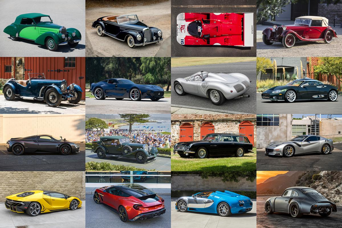 Though numbers of cars and the extreme value of those cars is lower than in previous Monterey Car Week auctions, this will be the biggest online auction cluster in history, and will further change the way humanity does business. It's all online, and completely free to watch. Reality TV for petrolheads