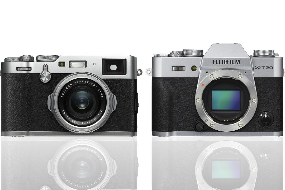 Fujifilm has announced two new X-Series cameras with the X100F and X-T20