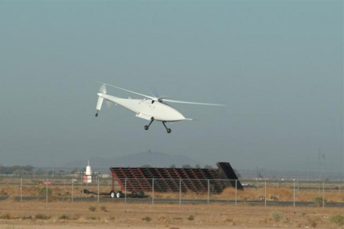 First Flight of A160T Hummingbird Unmanned Helicopter
