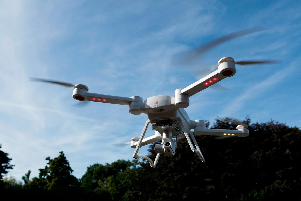 ProDrone's Byrd quadcopter will be available in three models, in black or white