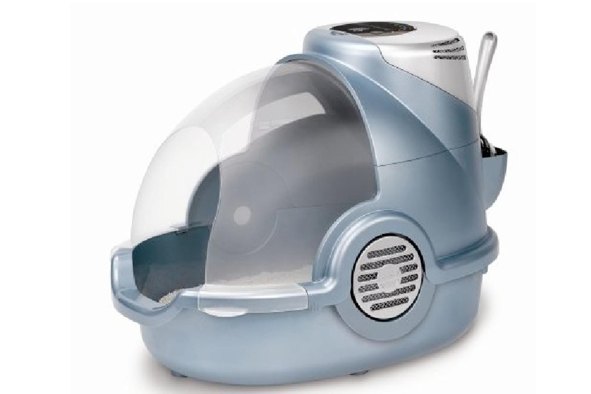 Bionaire's Odor Grabber Air-Cleaning Litter Box snatches those smells before they take away your breath