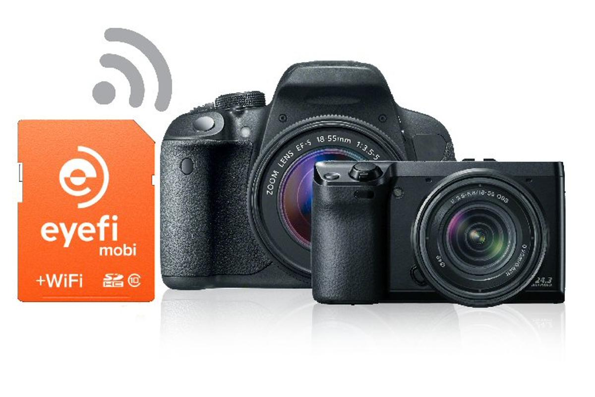 The Eyefi Cloud offers unlimited photo uploads at a cost of US$49 per year