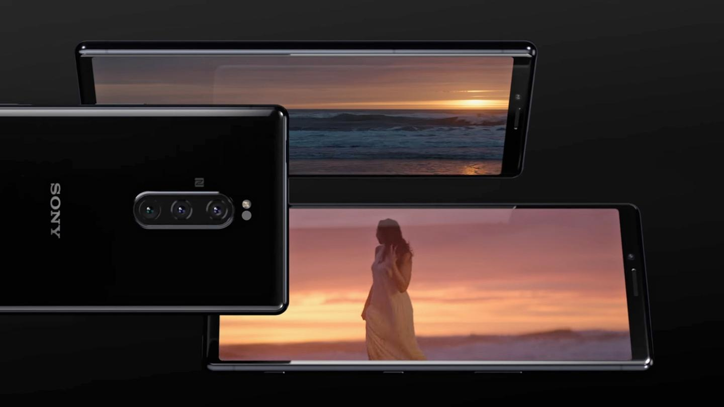 The Sony Xperia 1 arrives with a 21:9 aspect ratio 4Kdisplay