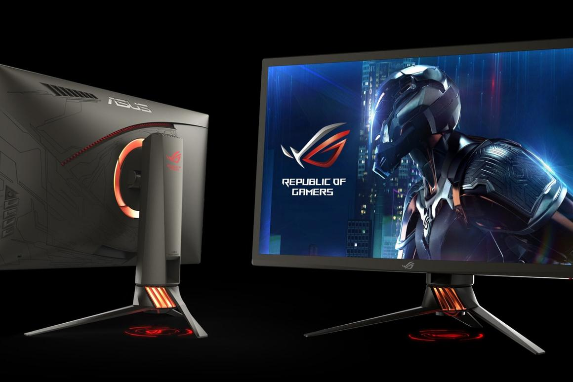 Asus goes toe-to-toe with Acer for G-Sync HDR gaming monitor