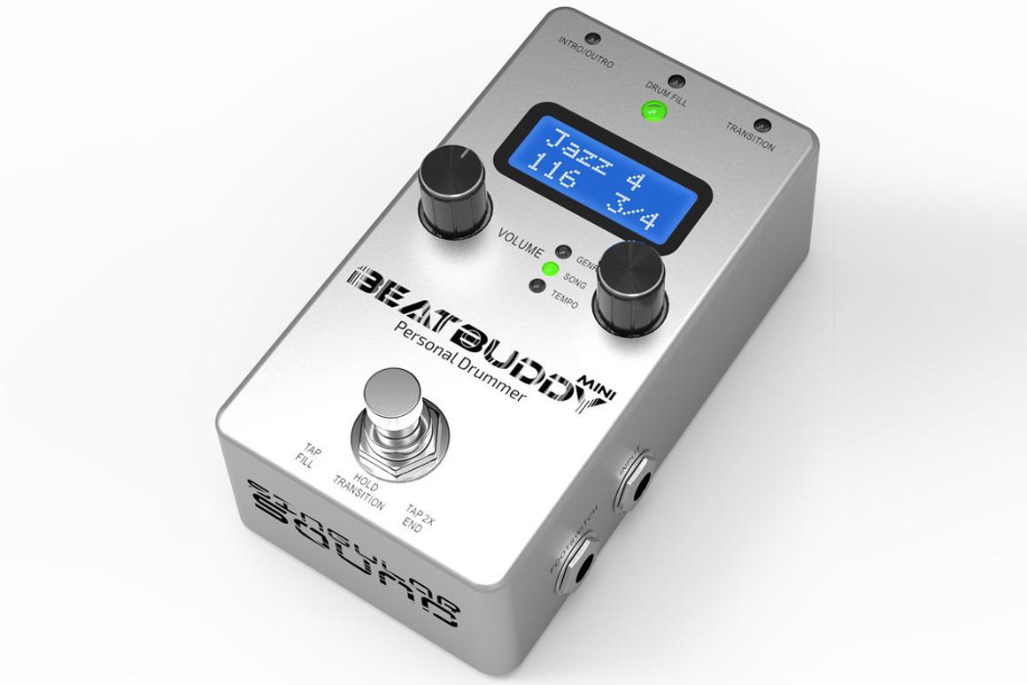 Gizmag reviews the BeatBuddy Mini: a drum machine in a pedal