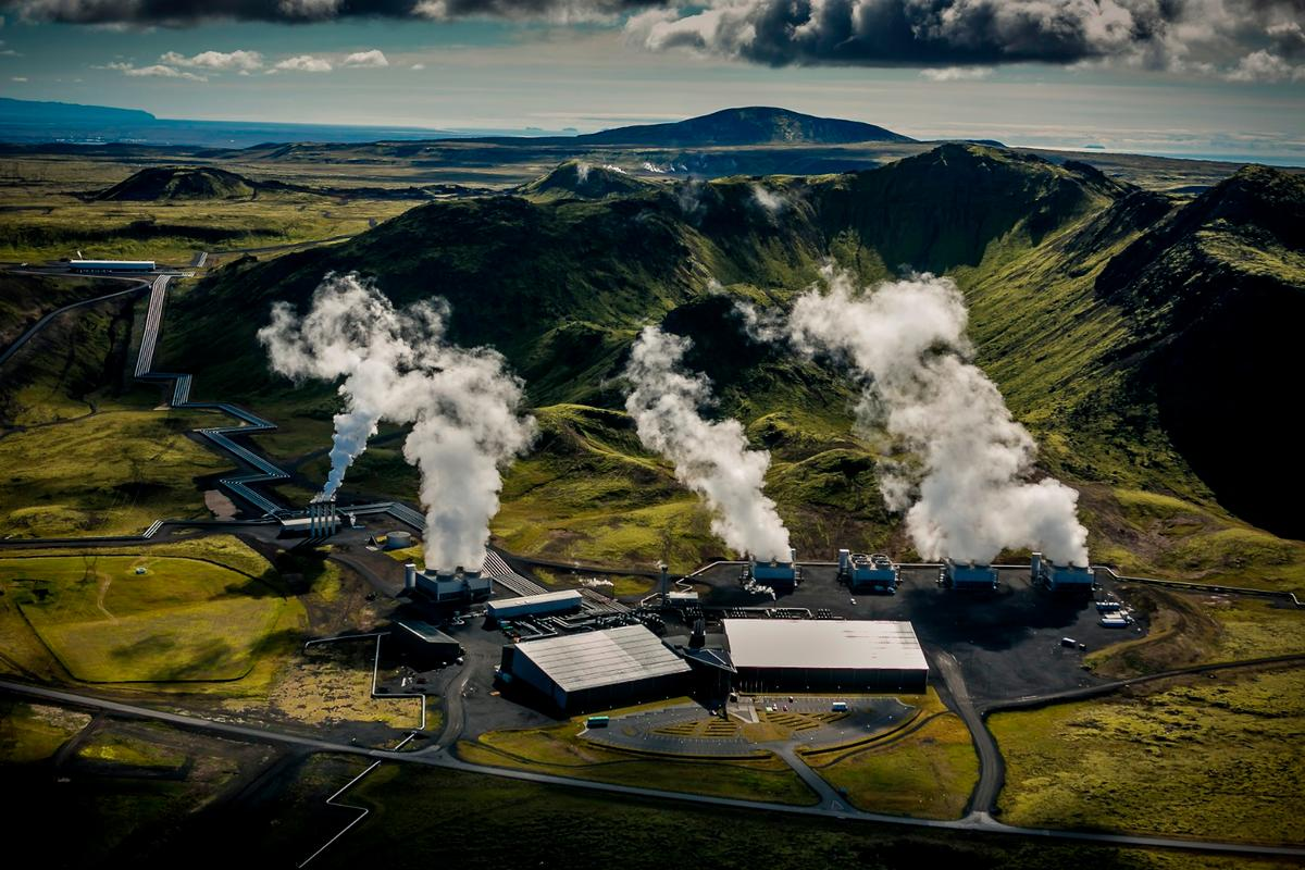 Climeworks recently carried out a carbon capture pilot project at the Hellisheidi geothermal power plant in Iceland