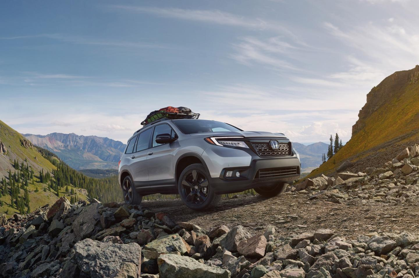 The 2019 Honda Passport is a five-passenger sport utility aimed towards a more adventurous, outdoorsy crowd