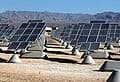 Photovoltaic solar power plant at Nellis Air Force Base
