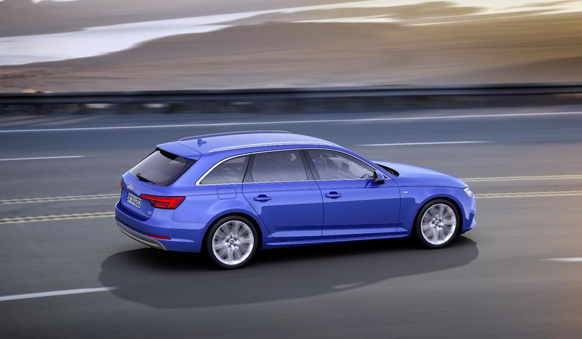 The new A4 Avant is up to 21 percent more efficient than the car it replaces