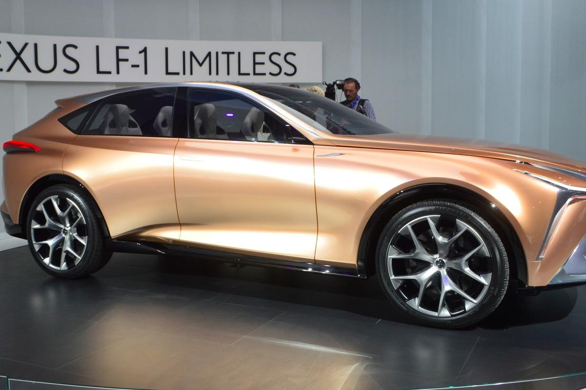 Lexus LF-1 Limitless at NAIAS 2018