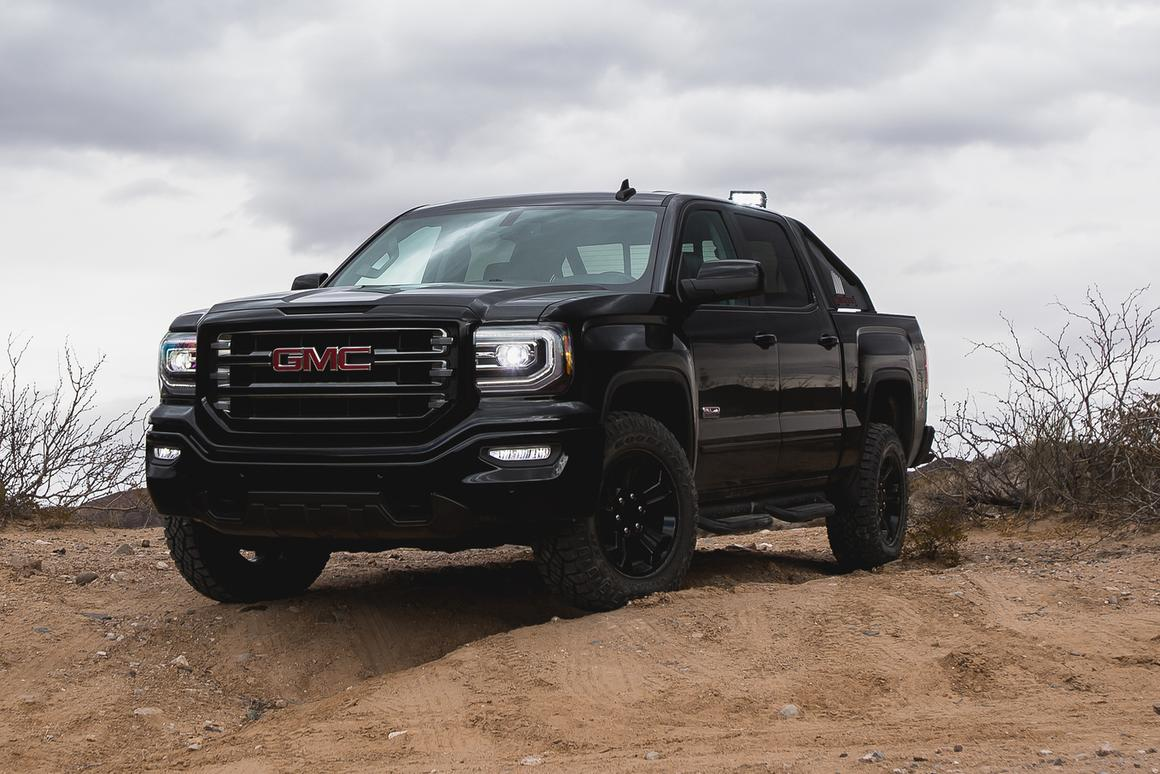 Extras-laden 2016 GMC Sierra All Terrain X unveiled