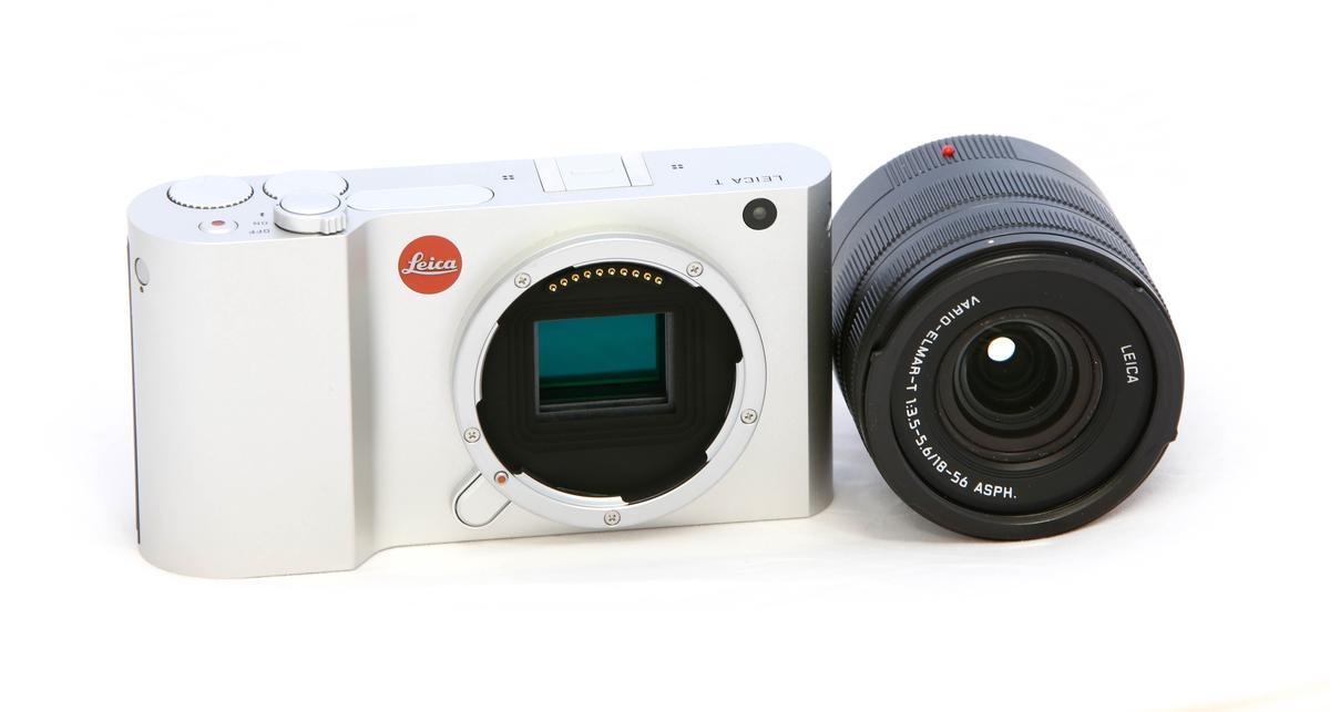 Leica T with 18-56mm Vario-Elmar-T lens (Photo: Loz Blain/Gizmag)