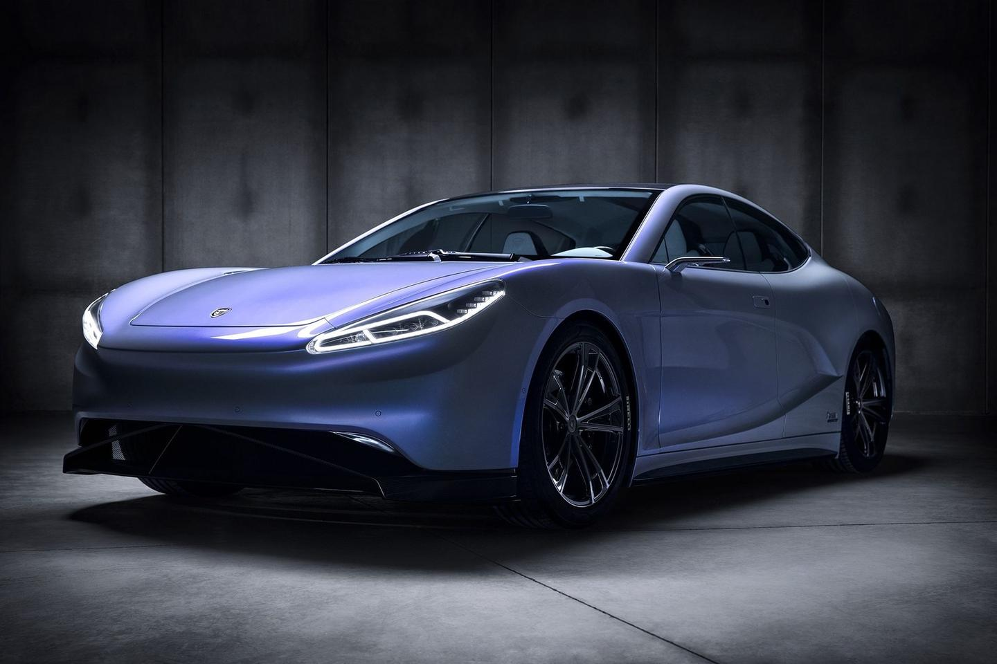 With help from the IDEA Institute, LVCHI has created a sleek, sexy electric sedan