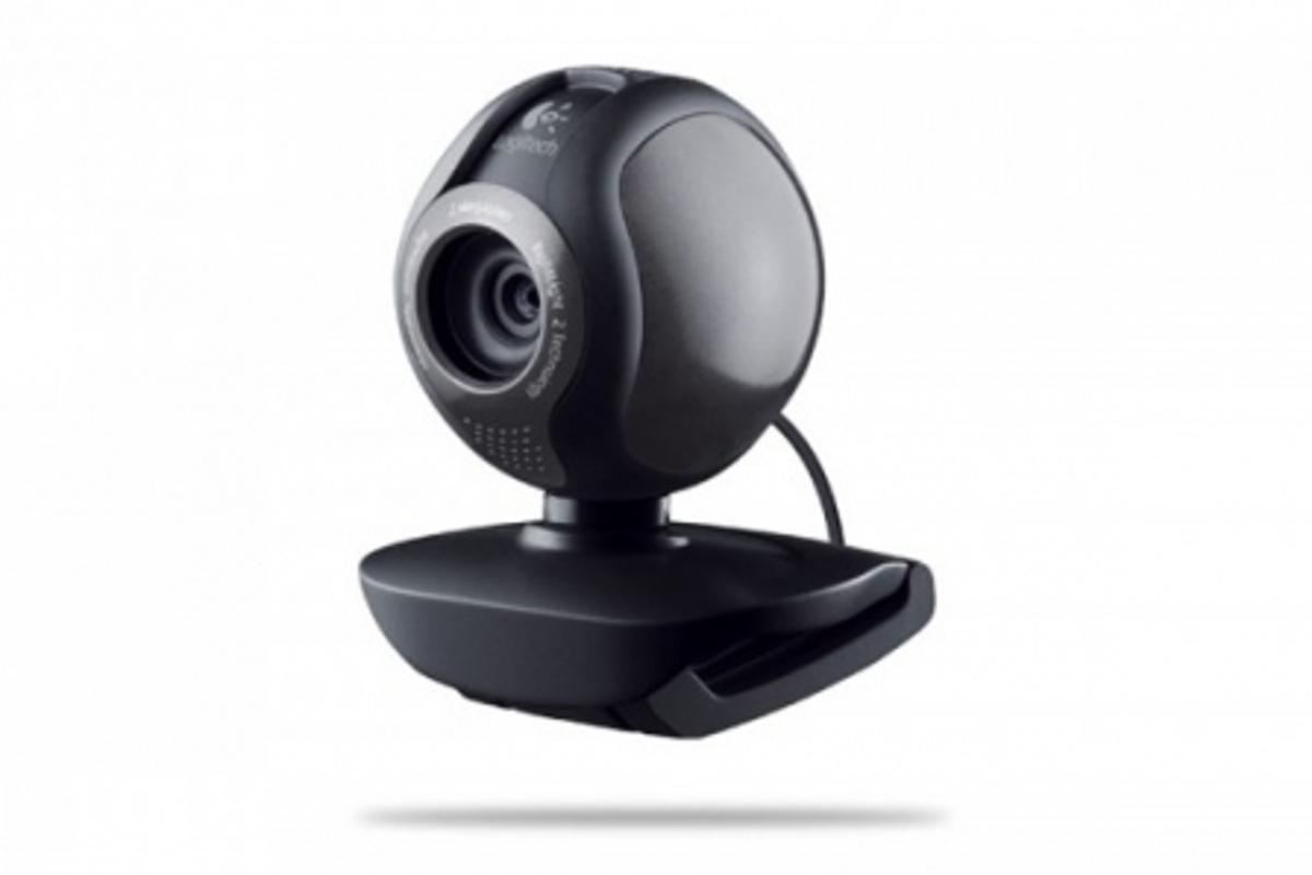 The Logitech C600 Webcam