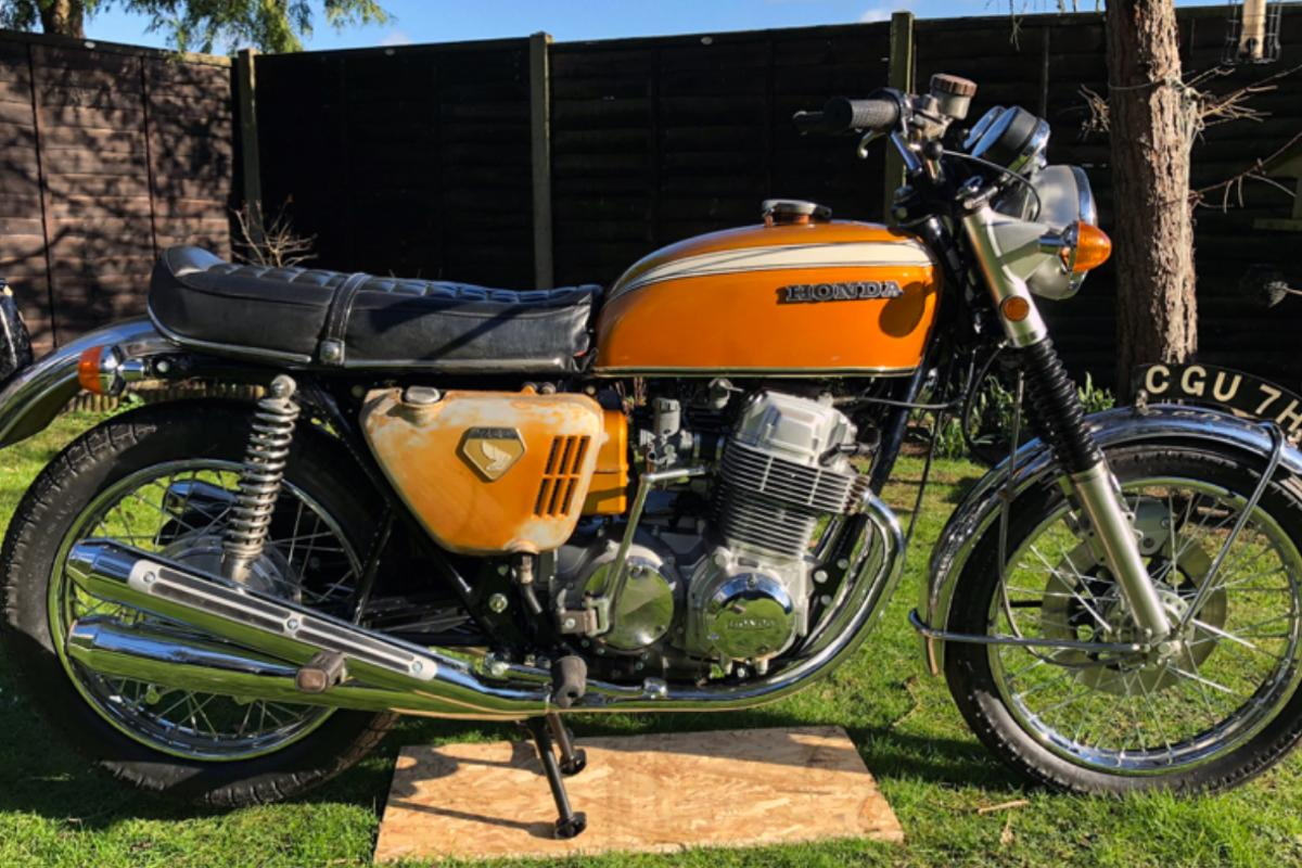 This prototype Honda CB750 has become the most expensive Japanese motorcycle ever sold at auction