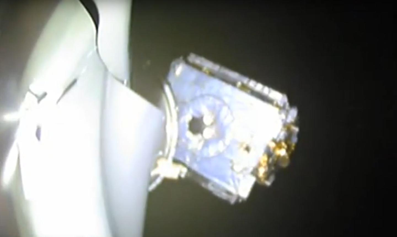 Bangabandhu Satellite-1 deploying