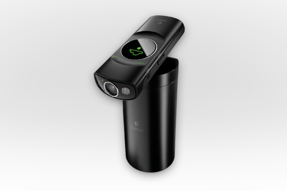 The Logitech Broadcaster Wi-Fi Webcam