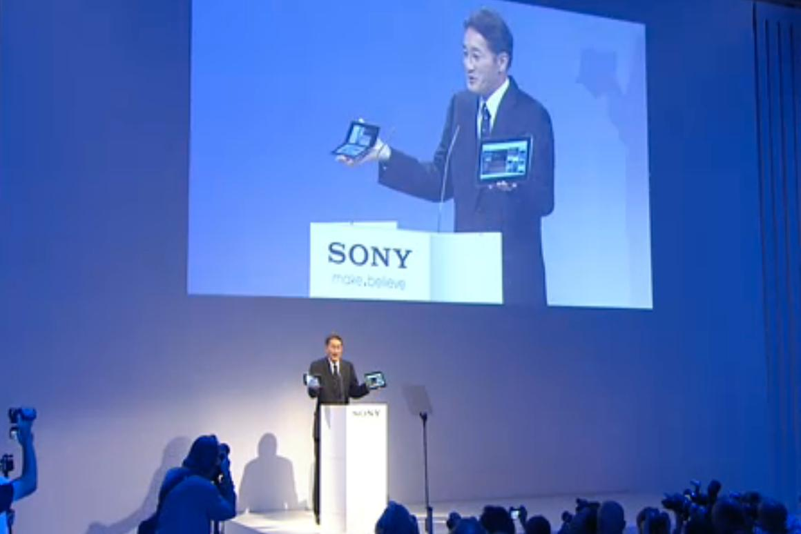 Sony presents it's new Tablets at IFA 2011