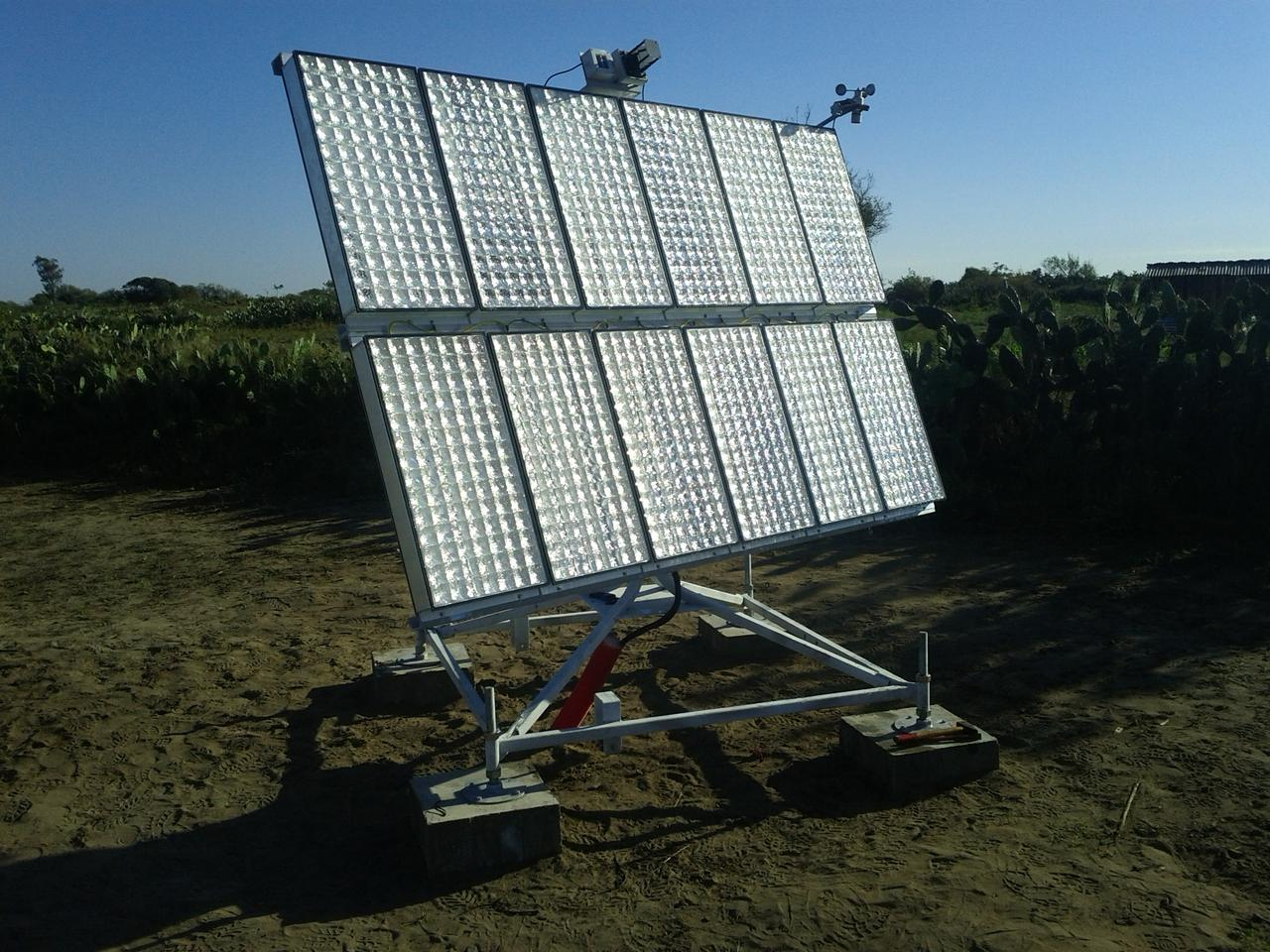 A CPV system brings electricity to Madagascar villagers