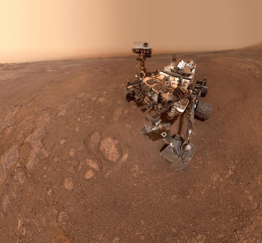 TheCuriosity rover's final selfie at the Vera Rubin Ridge
