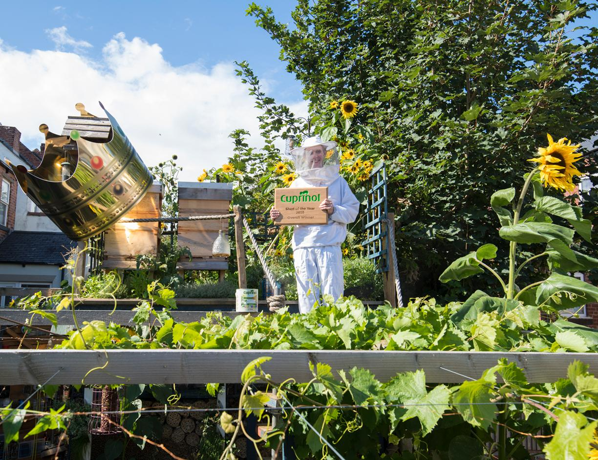 TheBee Eco Shed is the 11th annual Cuprinol Shed of the Year winner