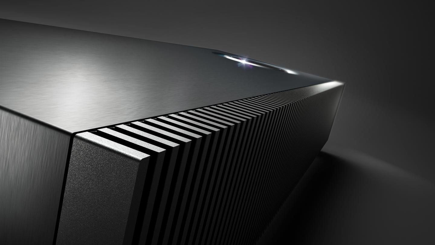 Muso features a striking solid aluminum heatsink that runs the length of the unit for optimum thermal performance