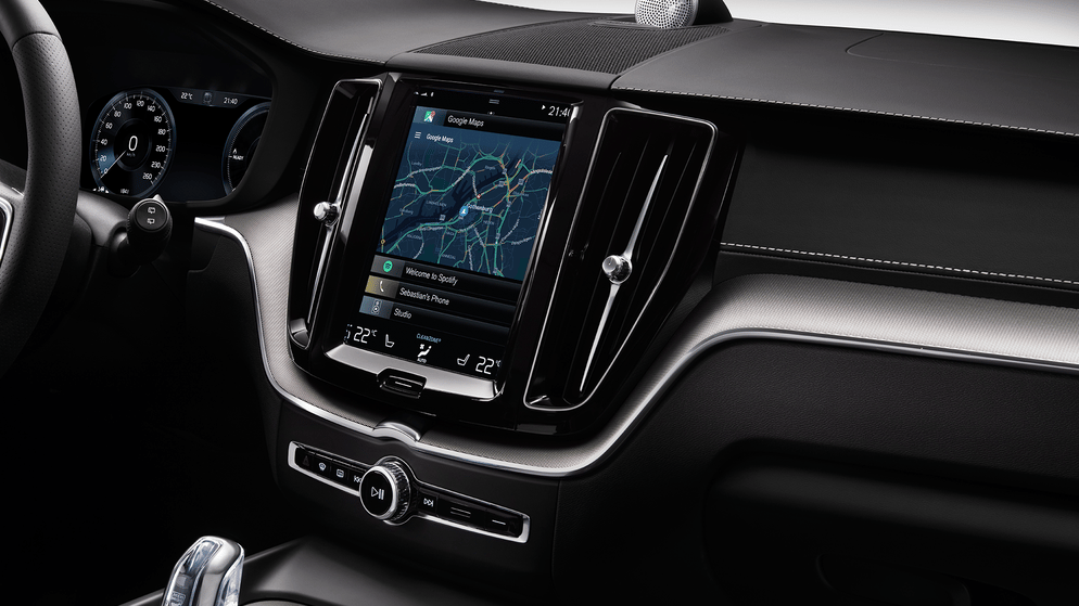 A look at Volvo's concept XC60 with Android as its infotainment operating system