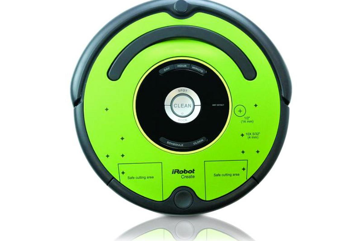 The iRobot Create 2, ready to be hacked