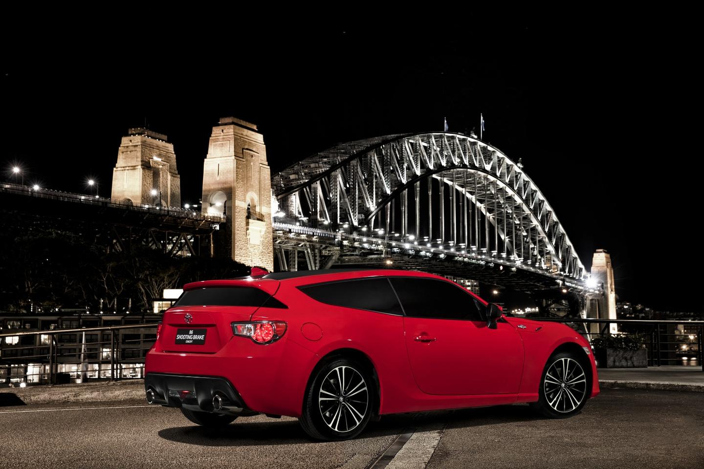 The Toyota GT86 Shooting Brake in Sydney