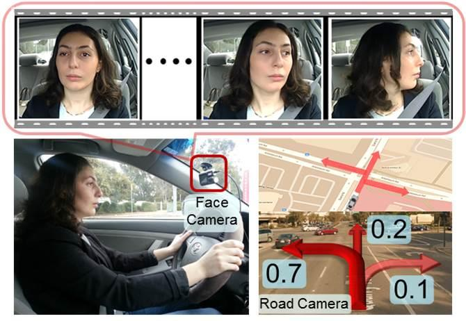 The Brain4Cars system analyzes drivers' head movements to determine what they're planning to do
