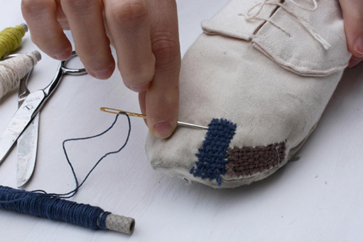 Eugenia Morpurgo's Repair It Yourself (RIY) shoe concept is designed for disassembly and repair