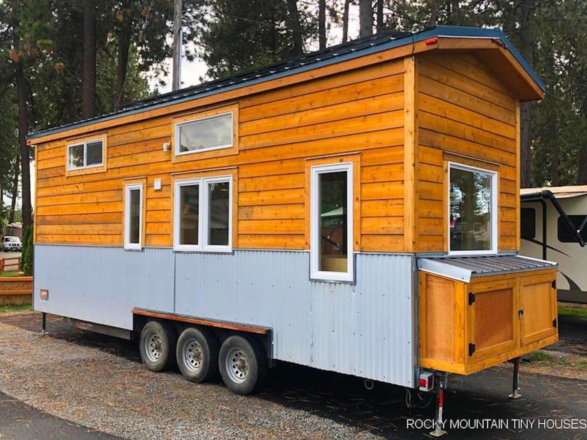 The cost of the Bradford 26' Tiny House came in at roughly US$119,000