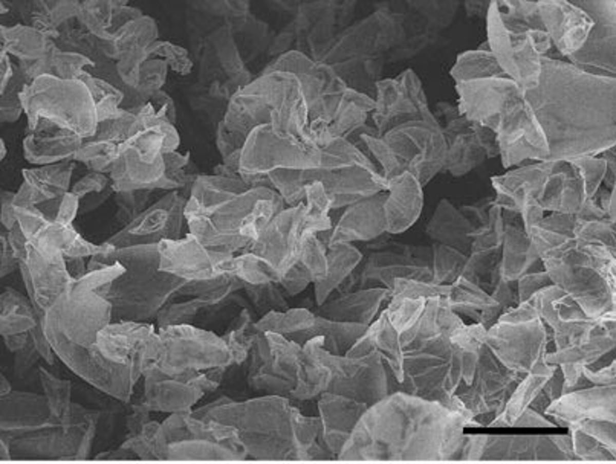 High surface area of graphene make supercapcitors possible